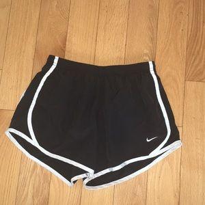Black Nike Girls Dri-Fit Shorts
